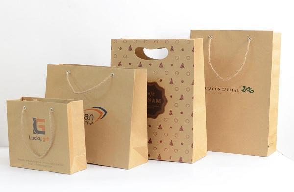 Các mẫu túi giấy kraft đẹp cho doanh nghiệp