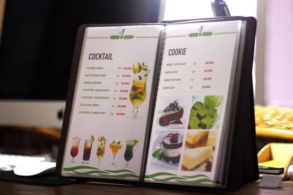 Tiêu chí lựa chọn đơn vị in nhanh menu giá rẻ tại tphcm