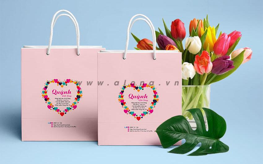 Một số mẫu thiết kế túi giấy đựng mỹ phẩm đẹp