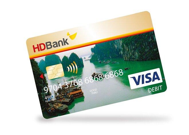 Lãi suất thẻ tín dụng HDBank