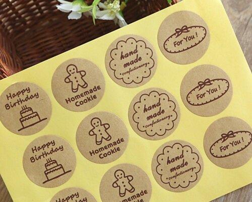 mẫu tem dán sản phẩm thiết kế đẹp