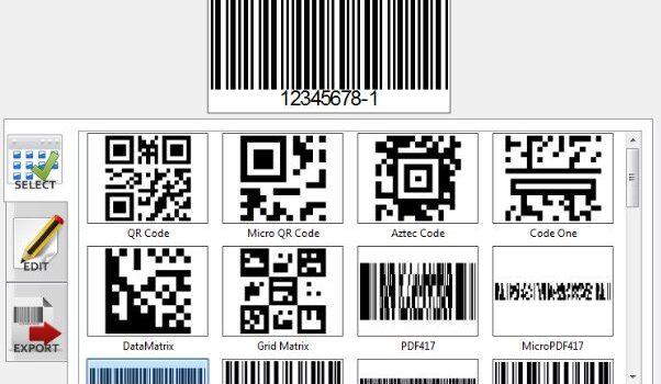 Phần mềm thiết kế tem nhãn mã vạch Barcode Generator