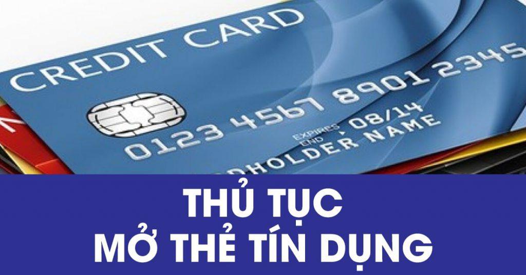 Thủ tục làm thẻ tín dụng