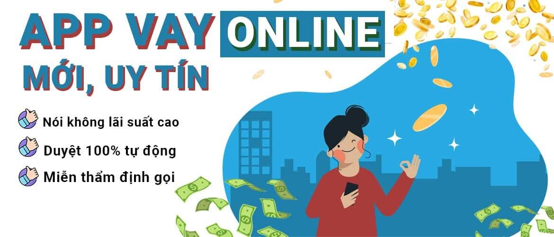 ứng dụng cho vay tiền online